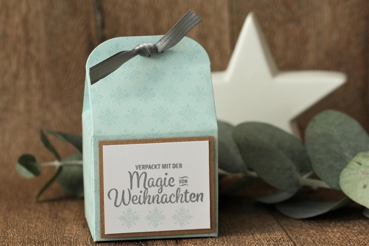 Winterliche Geschenkverpackung