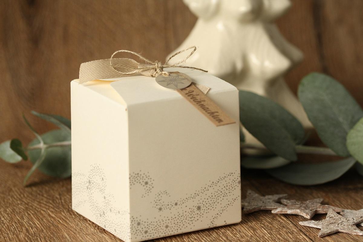 Geschenkverpackung Weihnachtsstern