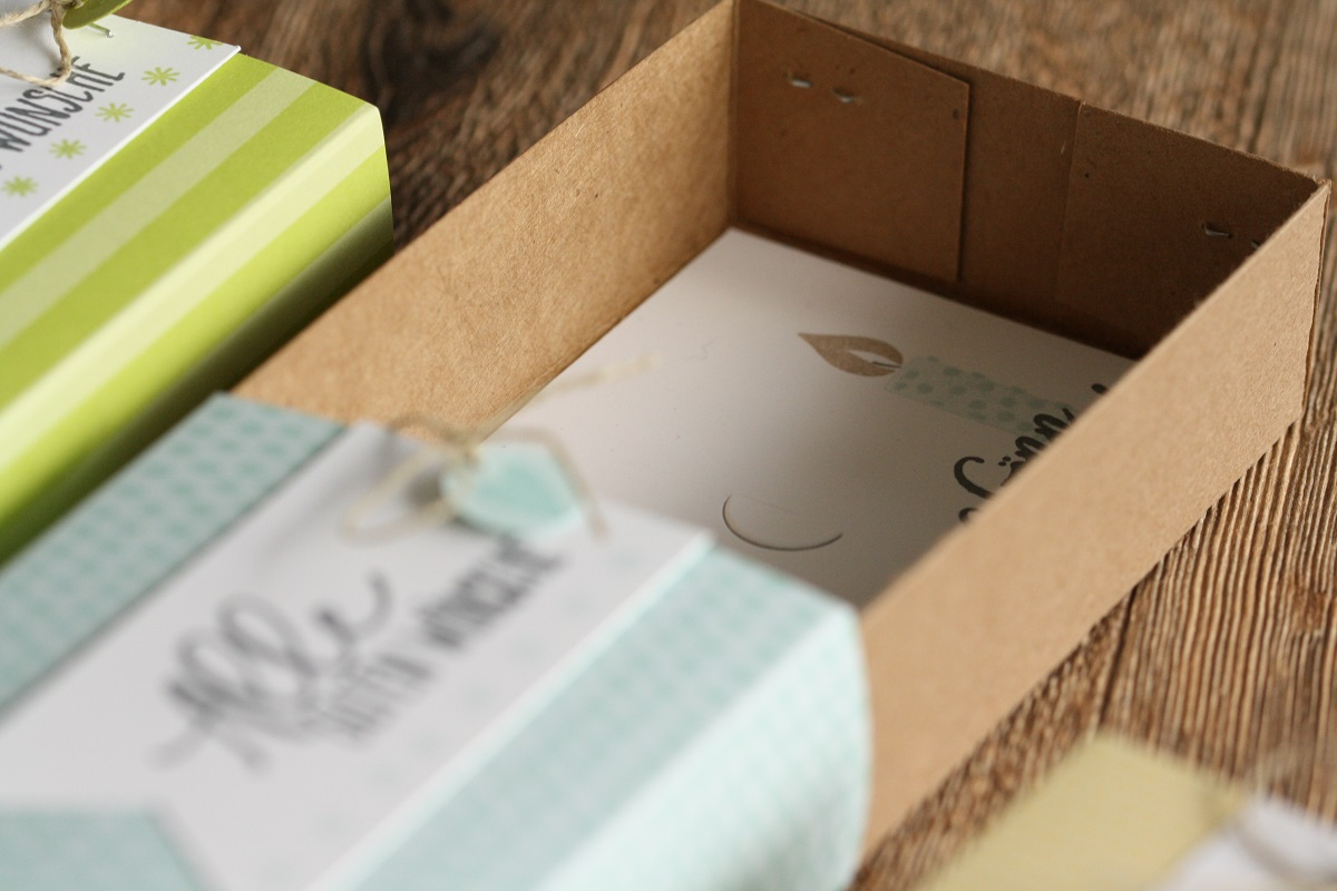 Karten Tuttifrutti = tolle Verpackung