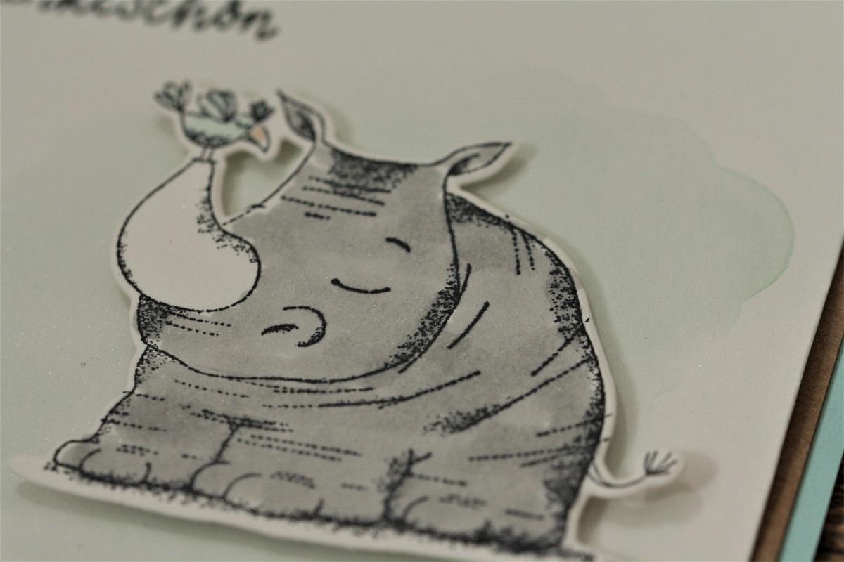 Süßes Nashorn