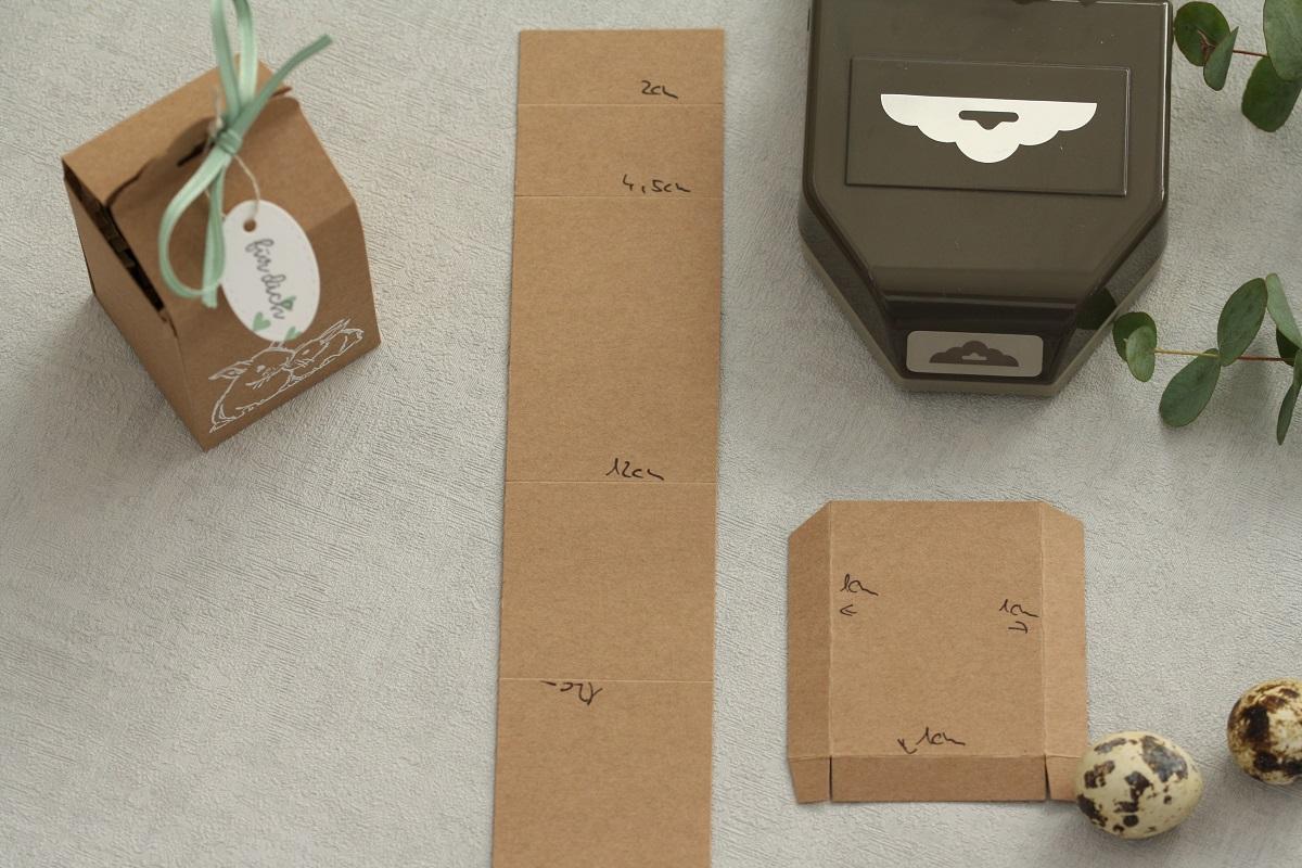 Österliche Verpackung