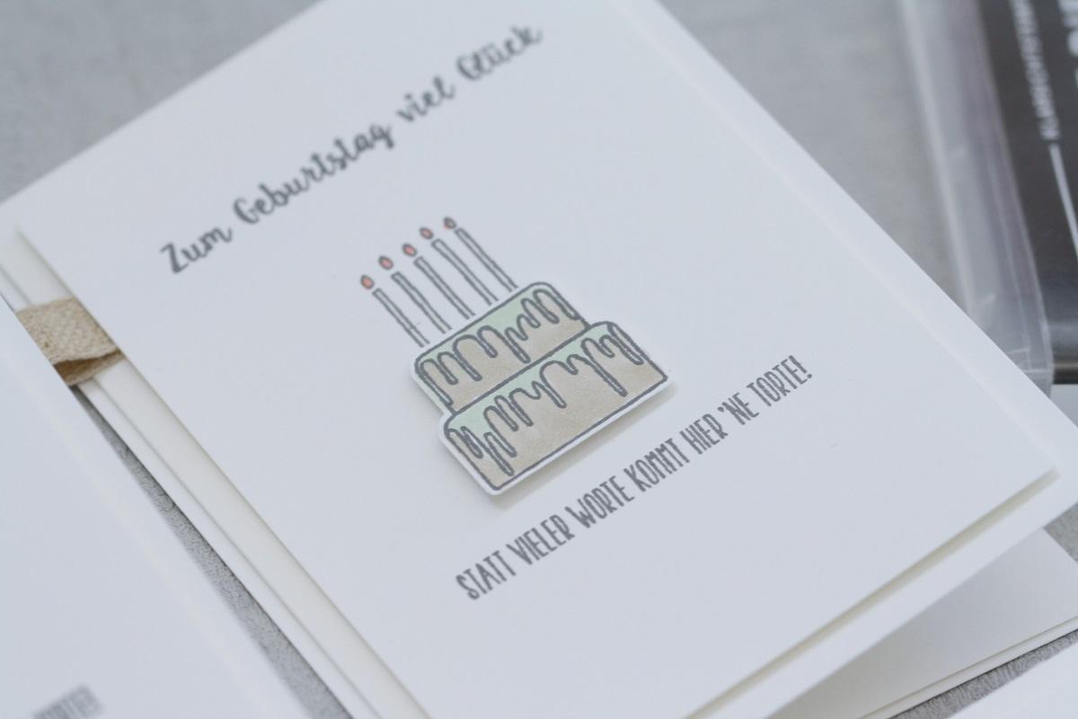 Kartenset 'Zum Geburtstag'
