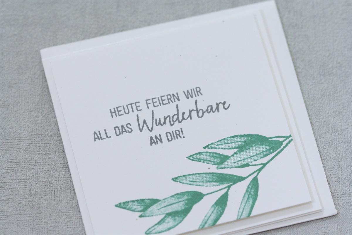 Kartenset 'Zarte Zweige'