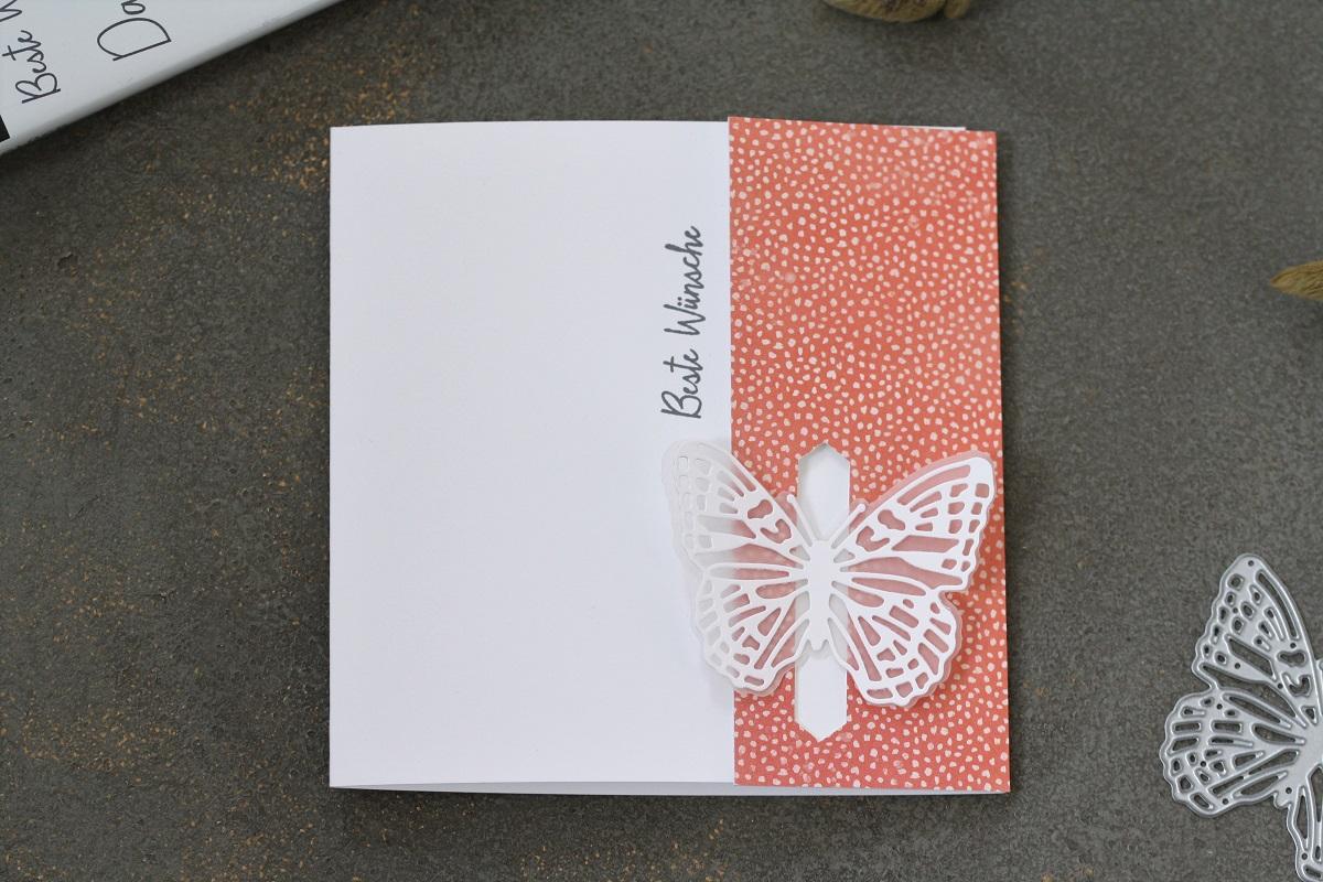 Schmetterlingsgruß