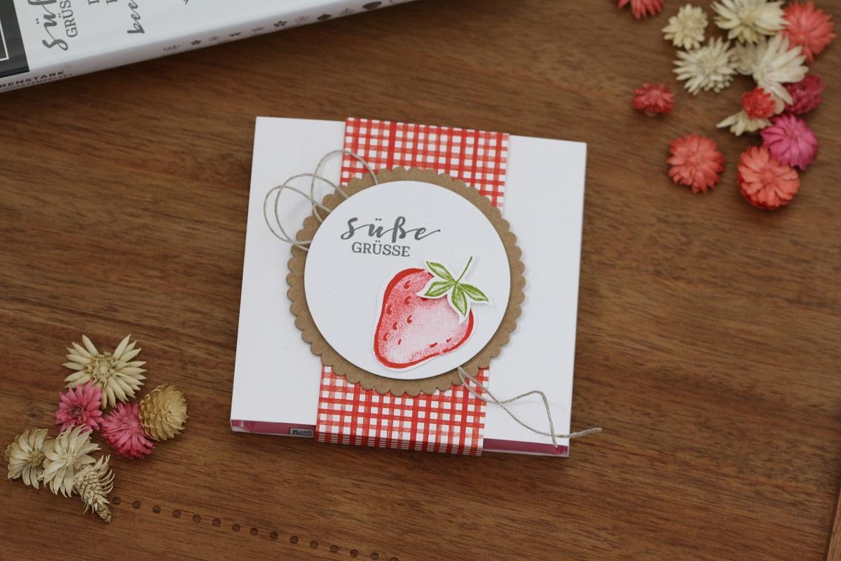 Schokoladenverpackung – mit Anleitung