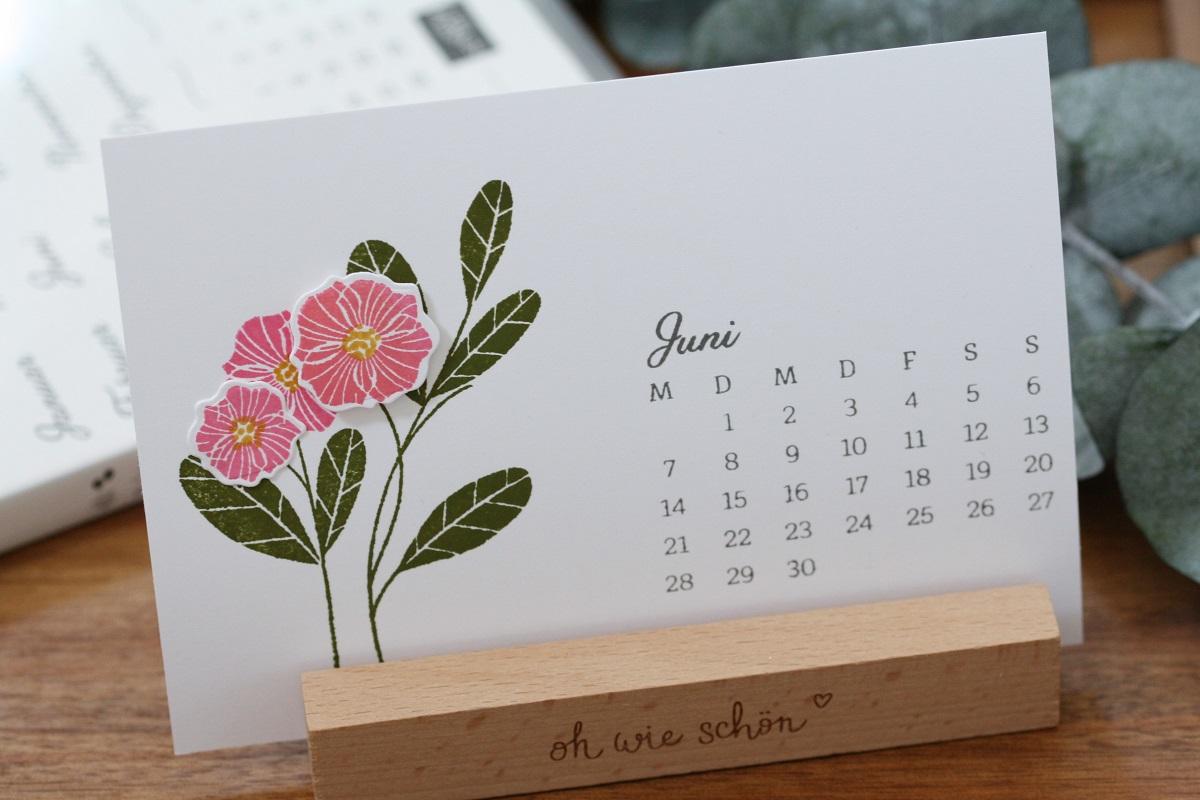 Kalenderblatt Juni