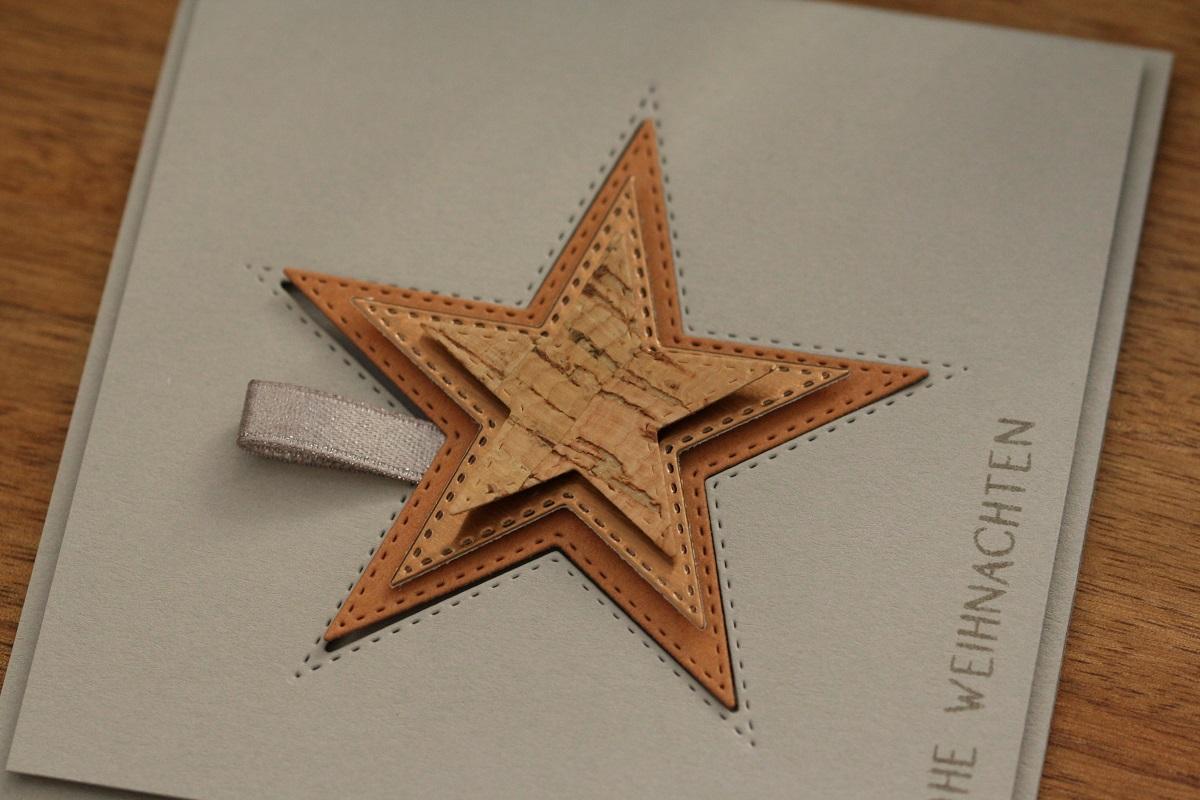 Sterne aus Kork
