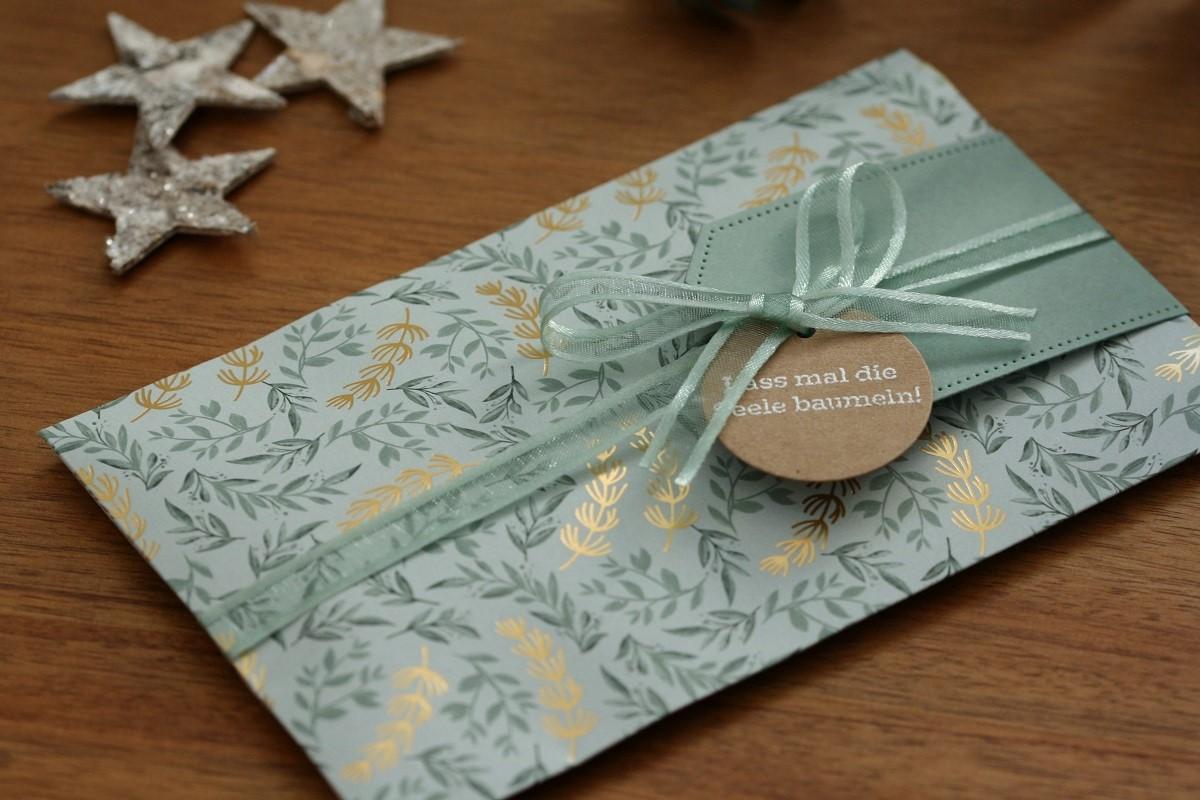 Umschlag aus Designerpapier